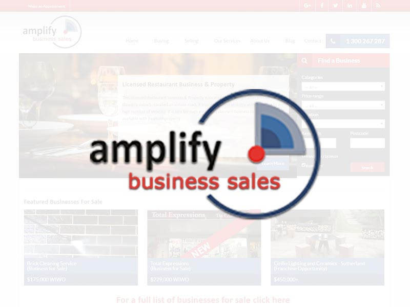 Amplify Business Sales - Business Brokerage in Wollongong and New South Wales